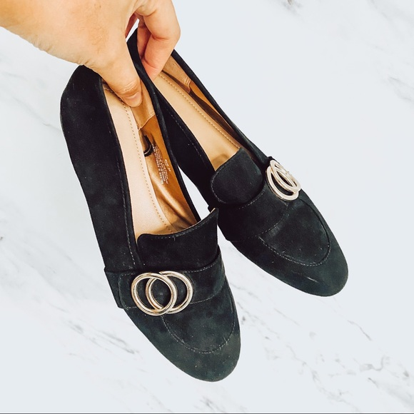 H&M Loafers Black Size 38